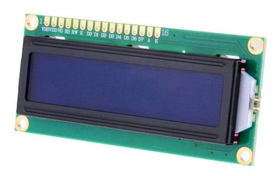 Kit Com 10 Un Display Lcd 16x2 Backlight Azul 1602a