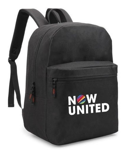Mochila Escolar Now United Music Unissex