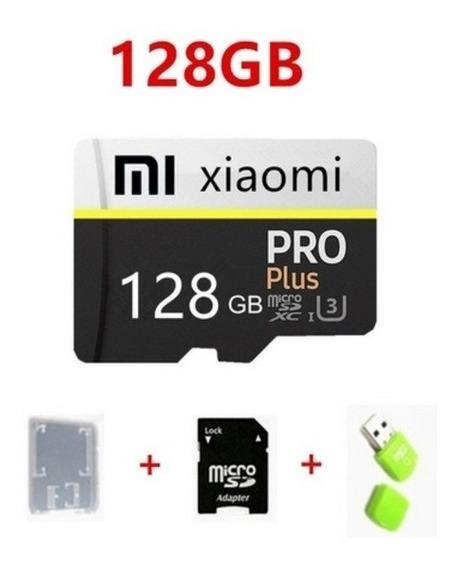 Cartão De Memória Xiaomi 128gb + Leitor