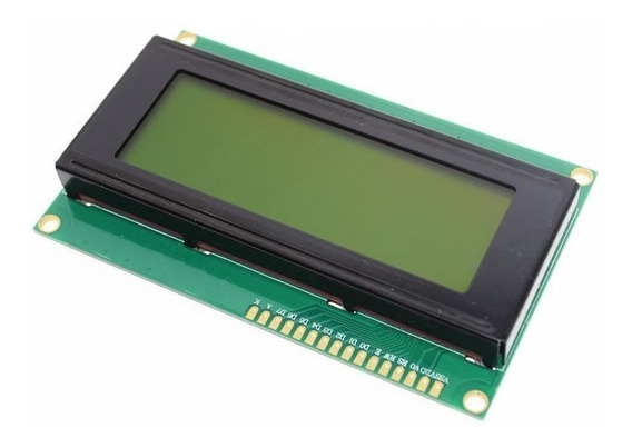 Display Lcd 2004 20x4 Fundo Verde Pic Arduino Lcd2004