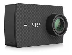 Camera Xiaomi Yi 4k + 12mp Original + Cartão 16 Gb +bastão