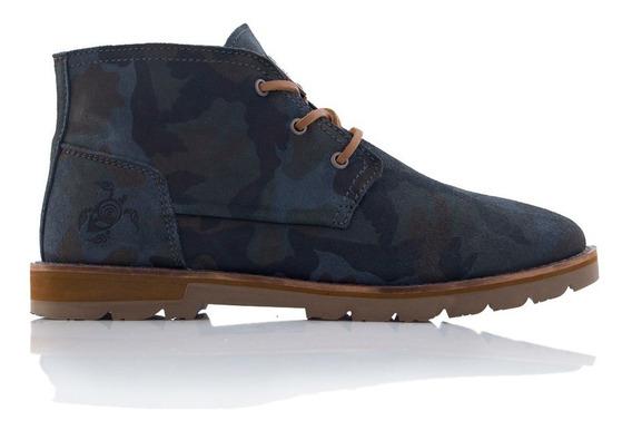 Zapato Hombre Weedwalker Azul Haka Honu