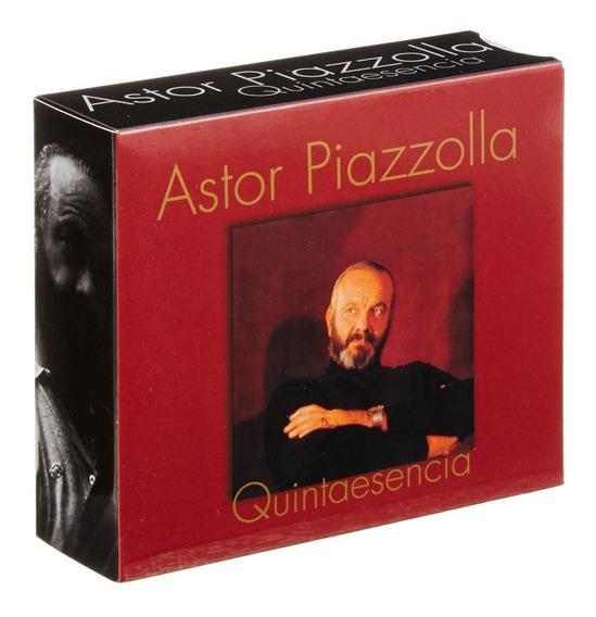 Astor Piazzolla Quintaesencia 4 Cd Nuevo Original