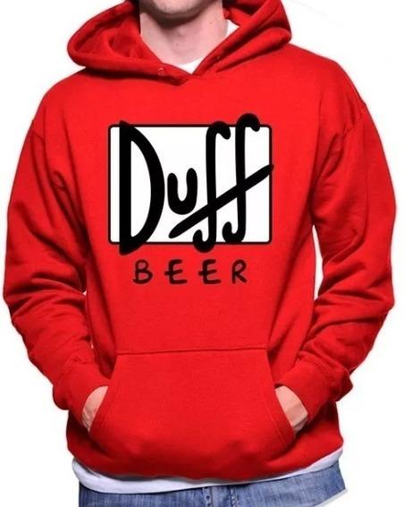 Duff Beer Buzos Canguro Unisex Los Simpsons Homero Hip Hop