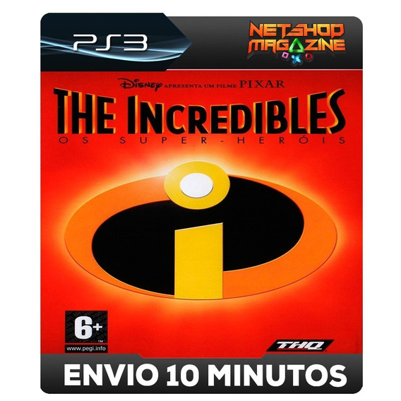Os Incriveis - The Incredibles - Psn Ps3 - Envio Imediato