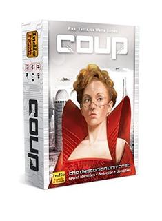 Indie Boards Y Cards Coup El Universo Distopio