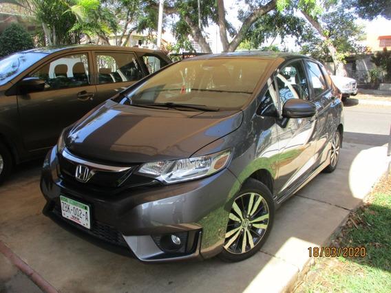 Honda Fit At Cvt Mod 2017 Gris Acero