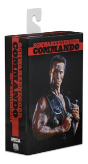 Neca Commando 30th Anniversary Ultimate John Matrix