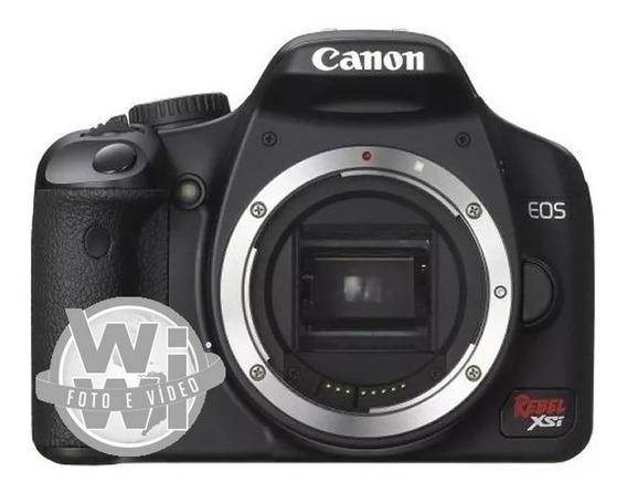 Câmera Canon Eos Rebel Xsi (corpo Usado)