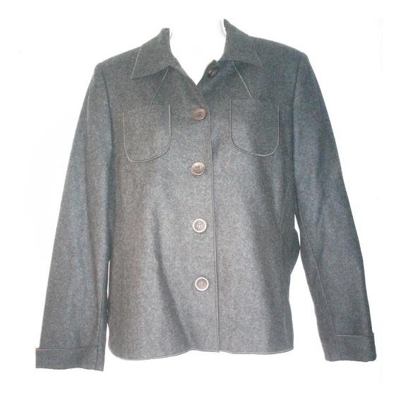 Usado Abrigo Blazer Saco Europeo Casual Vestir Talla M $890a