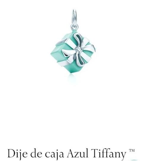 Dije De Caja Azul Tiffany