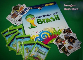 Panini Copa Do Mundo 2014 + Cromos + Brindes