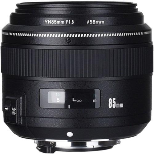 Lente Yongnuo Yn 85mm F / 1.8 Para Nikon F