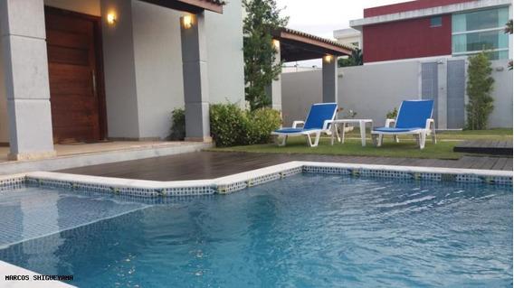 Casa Em Condomínio Para Locação Em Camaçari, Vila De Abrantes (abrantes), 4 Dormitórios, 3 Suítes, 2 Banheiros, 4 Vagas - Lr0614