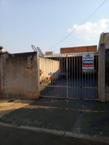 Imagem 1 de 17 de Casa À Venda, 60 M² Por R$ 250.000,00 - Jardim Vale Azul - Londrina/pr - Ca1711