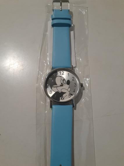 Relógio De Pulso Adolescente/criança Mickey Mouse