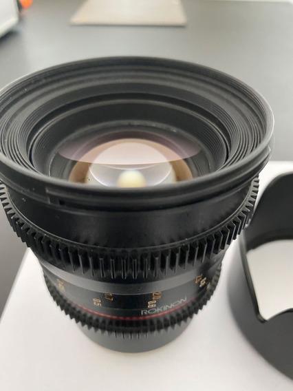 Lente Rokinon Cine Ds 50mm T1.5 - (sony) E-mount
