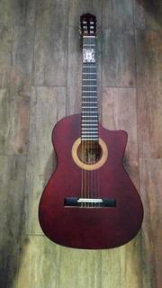 Guitarra Nueva Vino Curva Deluxe Con Brillo