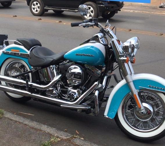 Harley Davidson Softail Deluxe Modelo Elvis Presley