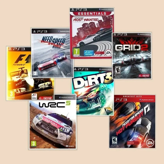 Need For Speed Rivals, Wanted, Hot Pursuit Ps3 Via Pendrive