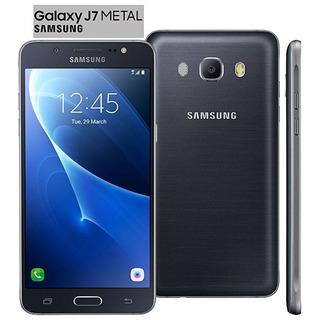 Smartphone Samsung Galaxy J7 Metal Original Preto 16gb