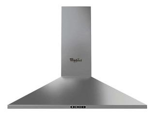 Campana extractora purificadora cocina Whirlpool WHW9500 ac. inox. de pared 898mm x 197mm x 450mm plateada 127V