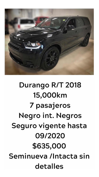 Dodge Durango 5.7 V8 R/t At 2018