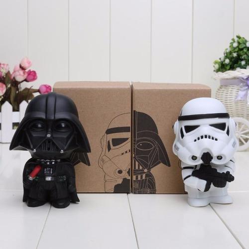 Muñeco Star Wars Soldado Blanco Con Cabeza Mobible