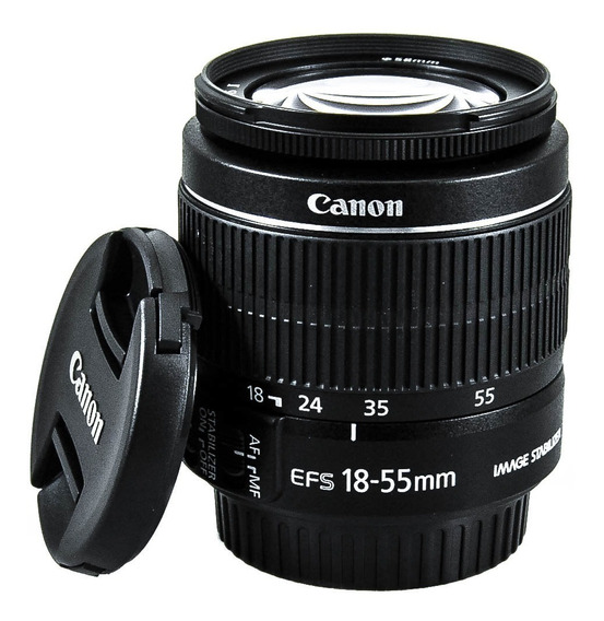 Lente Canon Ef-s 18-55mm F/3.5-5.6 Is 2 +nf-e Garantia Canon