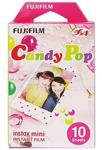 10 Fotos Fuji Instax Mini Candy Pop