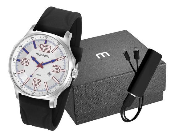 Relógio Masculino Silicone Mondaine 83377g0mvni2k2 Nfe