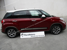 Fiat 500l 2016 Trekking Automático Gps Rines $249,000
