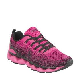 Tenis Deportivo Para Caminar Prokennex 0073 Color Fiusha