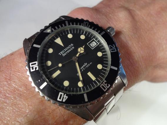 Relógio Technos Ski Diver - Vintage - Anos 70 - Raridade