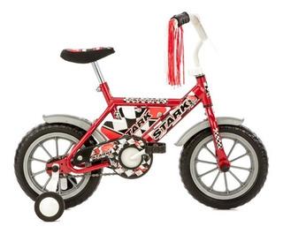 Bicicleta Rodado 12 Stark Top Race Nene Con Rueditas!