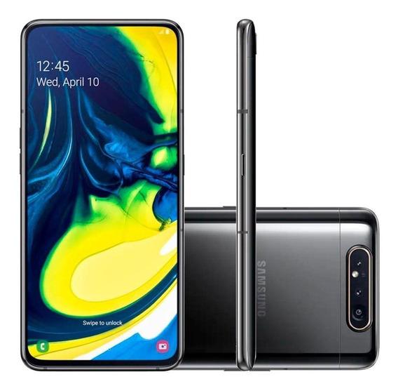 Smartphone Samsung Galaxy A80, 128gb, 48mp, Tela 6.7 , Preto