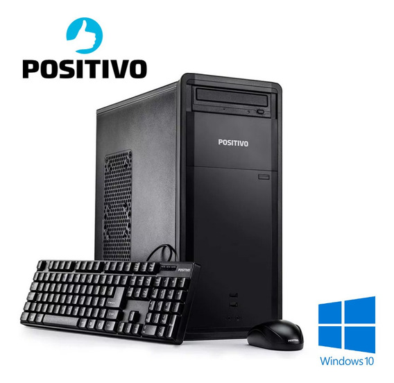 Pc Core I5 8gb 320gb Windows 10 + Office Positivo D50