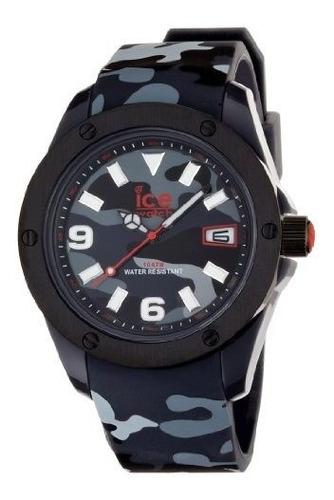 Imagen 1 de 6 de Reloj De Hielo Iabkxlr11 Ejercito Coleccion Hombre Color Neg
