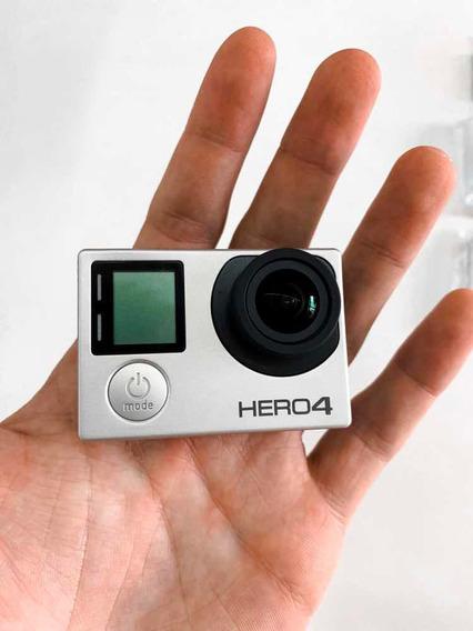 Gopro Hero 4 Silver + Bateria Reserva + Hub + Acessórios