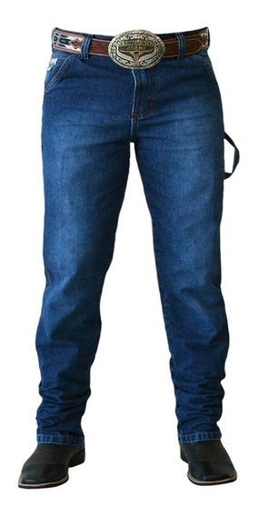 Calça Jeans King Farm Carpenter Blue Utility Fit Country