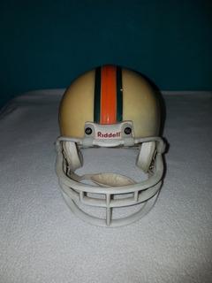 Casco Riddell Original De Futbol Americano Tamaño Mini