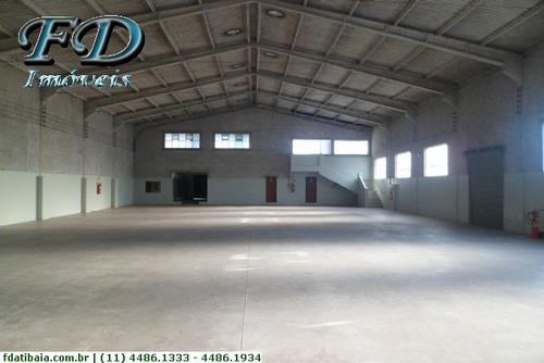 Imagem 1 de 24 de Galpões Industriais Para Alugar  Em Atibaia/sp - Alugue O Seu Galpões Industriais Aqui! - 1133121