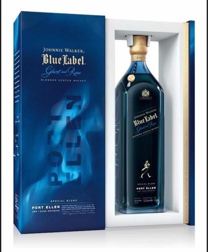 Imagen 1 de 9 de Whisky Johnnie Walker Blue Label Ghost & Rare 750ml Estuche
