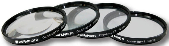 Agfa Kit Macro Hd Close-up Fullhd 52mm 55mm 58mm Hoya