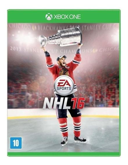 Nhl 16 Xbox One Jogo Original Lacrado Mídia Física