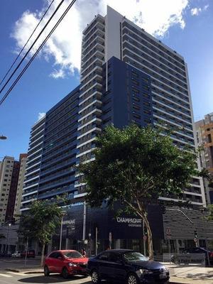Studio Com 1 Dormitório Para Alugar, 36 M² Por R$ 1.300/mês - Bigorrilho - Curitiba/pr - St0039