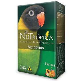 Ração Nutrópica Para Agapornis Sabor Frutas - 300g