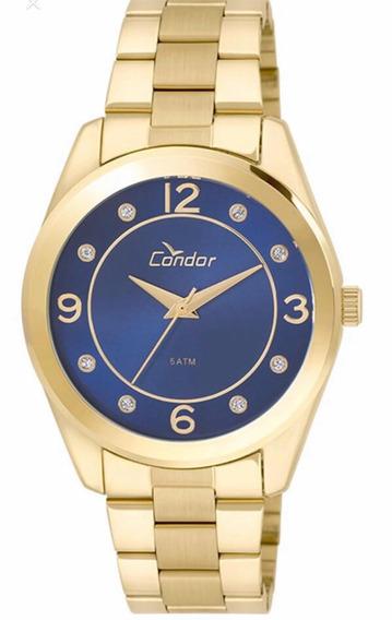 Relógio Condor Dourado Feminino Co2035klw/4a