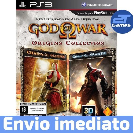 God Of War Origins Collection Ps3 Psn Jogo Pronta Entrega