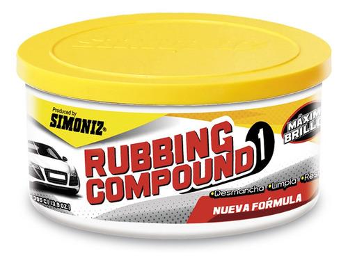 Crema Tipo Copao Rubbing Compound De 395gr. Ref 1033 Simoniz